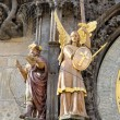 Clock tower statue, Statue on the left side of the astronomical clock in Pr — ストック写真 #8849611