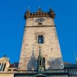 staré radnici hodinová věž — Stock fotografie