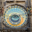 Prague Famous Astronomical Clock — Stock fotografie
