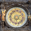 Stock Photo: Old Astronomical Clock Detail, Prague