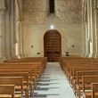 Pews in a church - Stock Photo