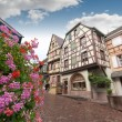 Stock Photo: Street in Alsace