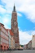 Bavarian city — Stock Photo