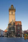 Clock tower , Prague — Stock Photo