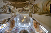 Interior of St. Nicholas Church, Prague, Czech Republic — Stock Photo