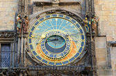 Prague Famous Astronomical Clock — Stock Photo