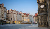 Sunrise at Old Town Square, Prague — Stock Photo