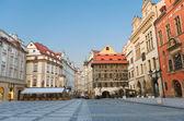 Sunrise at Staromestska's Square (Old Town Square), Prague, Czech Repu — Stock Photo