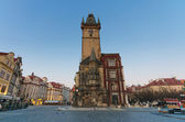 Old Town Hall Clock Tower at Old Town Square, Prague — Stock Photo