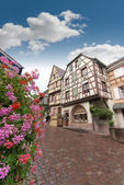 Street in Alsace — Stock Photo