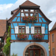 Typical half-timbered house, Alsace, France — Stock Photo #8850060