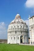 Baptistry of St. John, Pisa, Italy, — Stock Photo