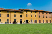 Old houses, Cathedral Square, Pisa — Stock Photo