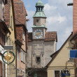Little German town historical center — Foto de Stock
