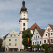 Stock Photo: Old town square, Weiden, Germany