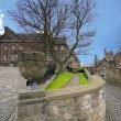 Medieval architecture in Edinburgh castle — Stock Photo