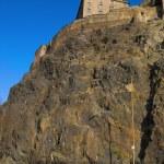 Edinburgh Castle view — Stock Photo