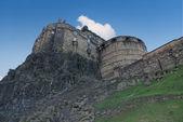 Edinburgh Castle side view — Stock Photo