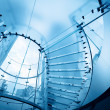 Royalty-Free Stock Photo: Modern glass staircase