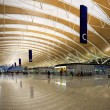 Modern airport hall — Stock Photo