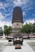 Temple pagoda — Stock Photo