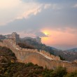 Great wall in sunset — Stock Photo #8681447