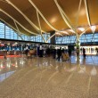 Inside airport terminal — Stock Photo #8682020