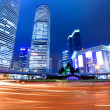 Night view of shanghai — Stock Photo