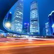 Stock Photo: Shanghai downtown at night