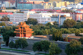 The turret of forbidden city — Stock Photo