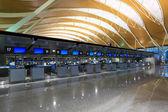 上海浦東空港の内部 — ストック写真