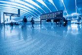 Dentro do aeroporto — Foto Stock