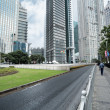 Стоковое фото: Shanghai financial center district