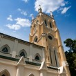 Christian cathedral in Hong Kong - Stock Photo