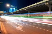 夜の北京交通 — ストック写真