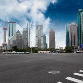 Shanghai century avenue — Stock Photo