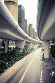 City viaduct road — Stock Photo