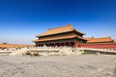 Palacio de la pureza celestial en la ciudad prohibida de pekín — Foto de Stock