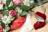 Wedding rings — Stock Photo