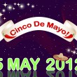 Royalty-Free Stock Vector Image: Cinco de Mayo background.