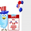 Armed Forces Day. — Stockvectorbeeld
