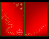 Christmas cards. — Stock Vector