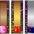 Royalty-Free Stock Immagine Vettoriale: Holiday banners.