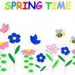 Royalty-Free Stock Vector Image: Spring time.