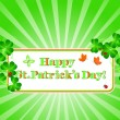 st.patrick — Stock Vector