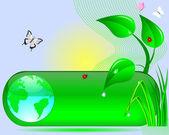Earth Day. — Stock Vector