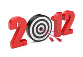 Success in new year. Image contain clipping path — Stock Photo