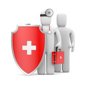 Medical Protection. Image contain clipping path — Foto de Stock