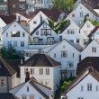 Houses. Norway, Stavanger - Foto Stock