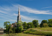 St.Alban's church — Stock Photo